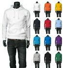 New Mens Stylish Longsleeve Cotton Hoodies All Colours.(Sz) XS / S / M / L / XL