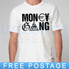 MONEY GANG THE GAME RAP TRAPSTAR OBEY WASTED MMG HIPSTER KINGS T SHIRT