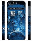 Doctor Who TARDIS iPhone 4 4S 5 5S 5c 6 6S 7 8 X XS Max XR Plus SE Case Cover 3