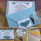TEACHER Forget Me Not Seeds Gift Idea Present Thank You Colour Envelope End Term