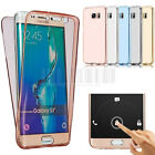 360° Full Body Shockproof Slim Soft Clear Protective TPU Gel Phone Case Cover