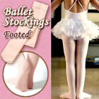 Children/girls ballet stockings/dance footed tights/pantyhose, pink,6 sizes new