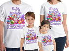 Shopkins Birthday Shirt Custom Name and Age Shopkins Personalized Family tees