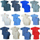 Red Kap Men's Industrial Work Uniform Shirt Short / Long Sleeve MANY COLORS