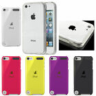Silicone Gel Back Case Cover Screen Protector for Apple iPod Touch 5 Free Screen