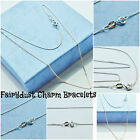 """Italian sterling silver chains 14""""ins 16""""ins 18""""ins length childs babies adult"""