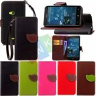 Leaf Fashion Leather Flip Stand Wallet Card Holder Case Cover For Lumia N625