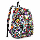 Boys Girls Retro Backpack Rucksack School College Travel Laptop Work Bag New with tags