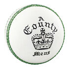 Readers Country Crown Tanned Leather Corky Cricket Ball White