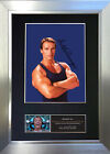 ARNOLD SCHWARZENEGGER Signed Autograph Mounted Repro Photo A4 Print 466