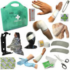 Deluxe Case BSI Premium Medical Workplace Office First Aid Kits + Wall Bracket