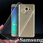 Shockproof Hybrid TPU Rubber Clear Cover Case For Samsung Note 5 6 Galaxy S6 S7