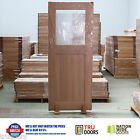 Laundry Glass French Solid Timber Doors Hardwood Back Pantry Bedroom Bathroom