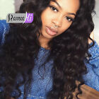 Loose Big Curly  100% Brazilian Human Hair Lace Front Full ace Wigs Baby Hair