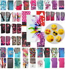 For Samsung Galaxy On5 G550 - Folio Pouch Wallet Flip Case Phone Cover Kickstand