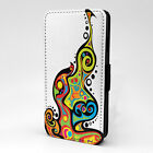 Amazing Colourful Retro Art PC Leather Flip Case Cover - Art Banner - S-T2490