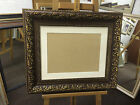STUNNING 107cm  BRONZE PICTURE/PHOTOGRAPH FRAMES WITH PICTURE MOUNT