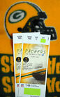 2 Tickets PACKERS vs Detroit Lions 09 25 16 Lambeau New South End Zone Seating
