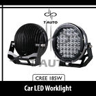 185W  Round 9Inch Cree Spot Lamp LED Work Light Driving Offroad 4x4 SUV For Jeep