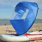 "42"" Portable PVC Downwind Wind Paddle Instant Popup Board Kayak Sail Accessories"