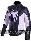 The Amazing Spider Man Embossed Spider Logo Peter Parkr Jacket Halloween Costume