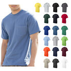Hanes Mens Beefy-T Pocket Tee Crew neck Plain Cotton T-Shirt S-3XL - 5190 image