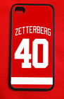 Henrik Zetterberg Detroit Red Wings Iphone 4/4S 5/5C/5S 6(4.7*) 6 Plus Case