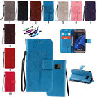 New Rope Pattern Flip Leather Wallet Cards Skin Case Cover for Samsung Galaxy