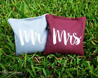 8 Mr & Mrs Classic Series Cornhole Bags - Corn Filled by Get Outside Games