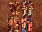 VICTORIAS SECRET PINK HEAVY DUTY FLIP FLOPS NWT