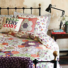 Floral Patchwork WALLFLOWER by Emma Bridgewater  Pink & Purple Bedding Range