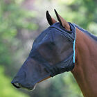 Shires 6654E Fine Mesh Fly Mask with Ear Holes and Nose Black