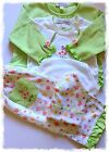 Kissy Kissy Luxury Pima Cotton Baby Girl's Layette Set 4 pce Outfit