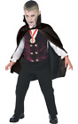 Child Vampire Dracula Kids Boys Halloween Outfit Fancy Dress Costume