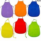 Kid's Polyester Arts  Crafts Kitchen Artist Painting Classroom Aprons Non-Woven