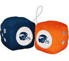 NFL Fuzzy Dice (Choose Your Favorite Team) NFL Football Team Logo Plush Car