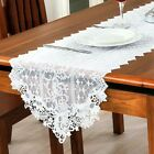 Hot Lace Table Runner Embroidery Cloth Wedding Party Dining Room Home Decor