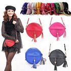 Messenger Shoulder Bag Round Shaped Chain Strap Tote Tassel Fashion