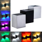 2W/6W LED Wall Sconce Lamp Up/Down Light Fixture Hotel Disco Vestibule Hallway