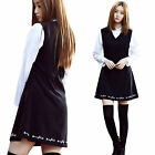 """""""2NEFIT"""" Korea Women's Girl`s Fashion OPS-005 Embroidered One Piece Dress"""