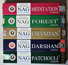 5 Packs Golden Nag Incense Joss Sticks Choose Your Favourite or a Mix