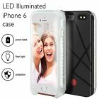 LED Light Up Luminous Selfie Cell Phone Case For iPhone 6/6s  LED Illuminated