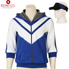 Pokemon Go Trainer Figure Blue Hoodie Team Mystic Instinct Valor Costume