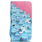 Wallet Card holder cover Flip Leather Case for Apple iPhone 5 5s 5SE 6 6S Plus