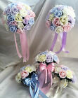 Wedding Flowers Light pastel/Rainbow Colours Brides, Bridesmaids, buttonholes