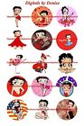 "BETTY BOOP 1"" CIRCLES  BOTTLE CAP IMAGES. $2.45-$5.50  *****FREE SHIPPING***** $2.45 USD on eBay"