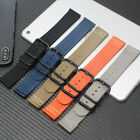 18mm 20mm 22mm Ballistic Durable Military Nylon Wrist Watch Band Strap image