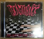 The Deadthings Dead Over Heels CD Rare Horror Punk Misfits Wednesday 13