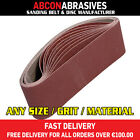 10 x Abrasive Sanding Portable Belts 65x410mm (P36-P500) Manufactured in Ireland
