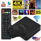 MXQ Android4.4 4K S905 Smart TV Box Quad Core 8GB Fully Loaded Wifi Media Player